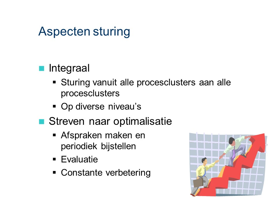 ASL - Sturende processen: Aspecten sturing