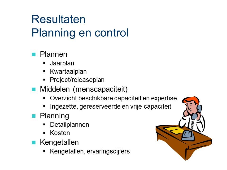 ASL - Planning en control: Resultaten