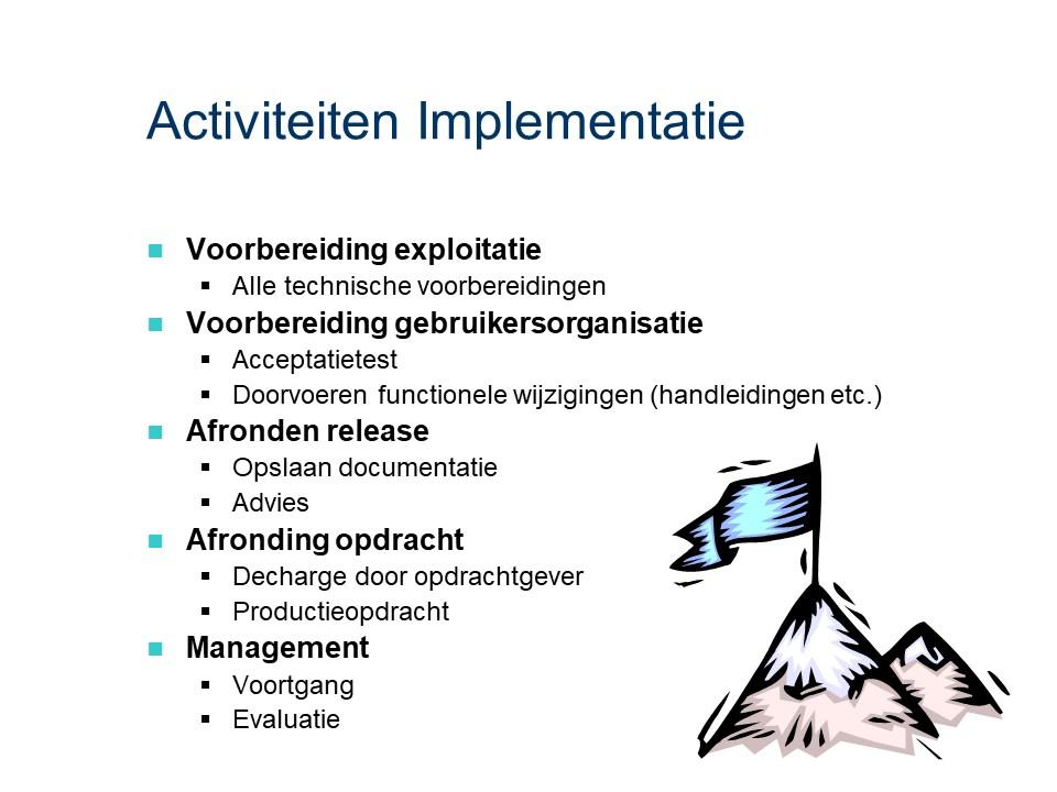 ASL - Implementatie: Activiteiten