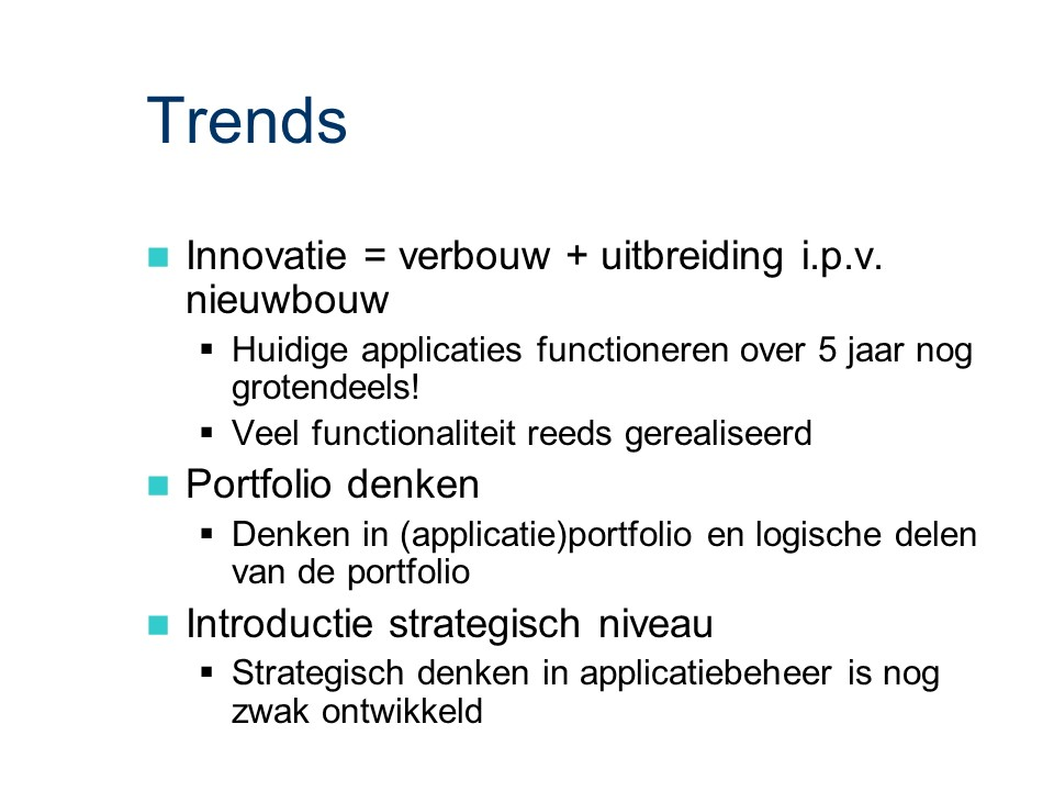 ASL - ACM: Trends